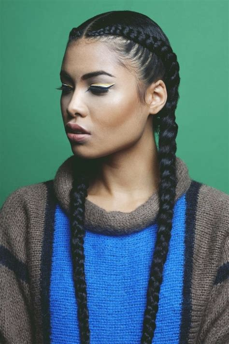 weave hairstyles 2017 braids cornrows two cornrows braids with weave natural hairstyles