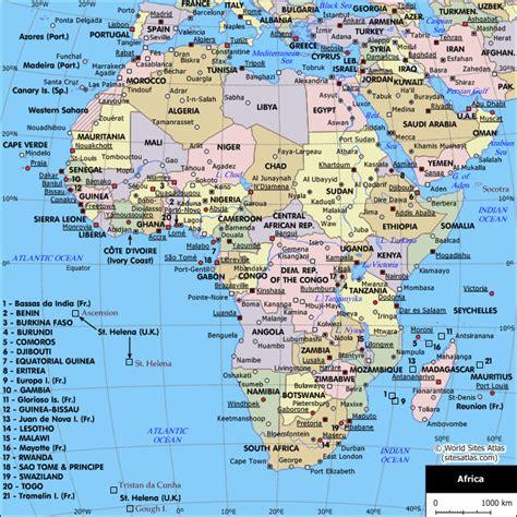 map  cities  africa africa planetologcom