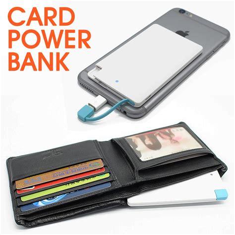 Wallston Slim Credit Card Power Bank 3000 Mah manufacturer gift promotional credit card 2000mah power bank buy restaurant power bank