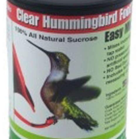 easy mix clear hummingbird food northwest nature shop