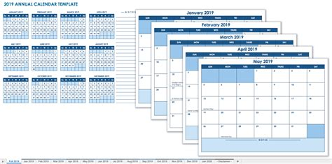 12 Page Calendar Template 15 free monthly calendar templates smartsheet