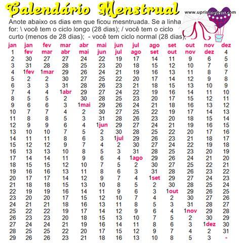 printable menstrual calendar 2015 calendar template 2016