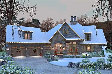 french country cottage house plans cottage craftsman french country house plan 75134