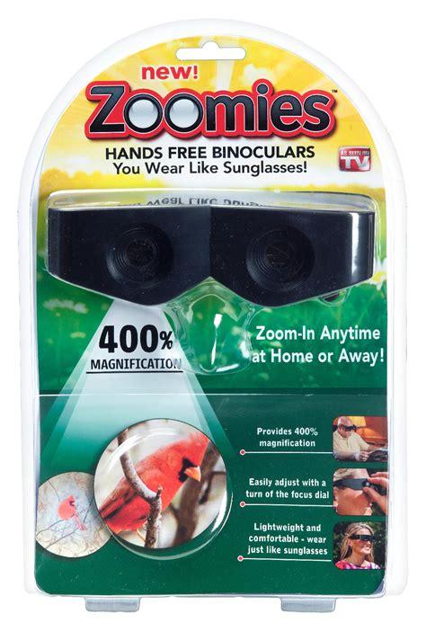 as seen on tv zoomies free binoculars