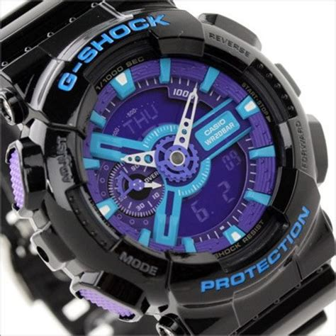 Gshock W01s Black L Blue buy casio g shock hyper colors analog digital display