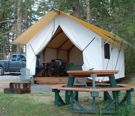 Cabin Style Cing Tents by The Canvas Cottage Rainier Yurts
