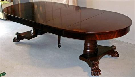 American Furniture Dining Tables American Empire Period Dining Table For Sale At 1stdibs