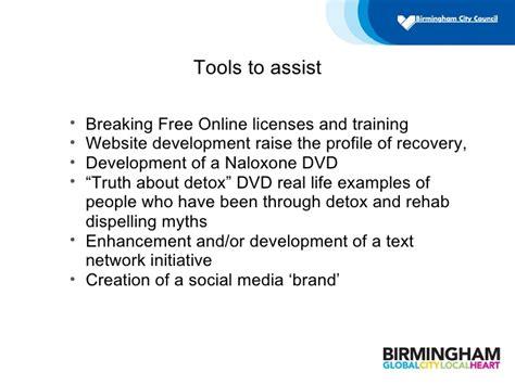 Detox Through Myth by Using Social Media To Reduce Misuse Birmingham