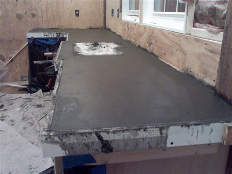 amazing cement countertops design how to stain a concrete