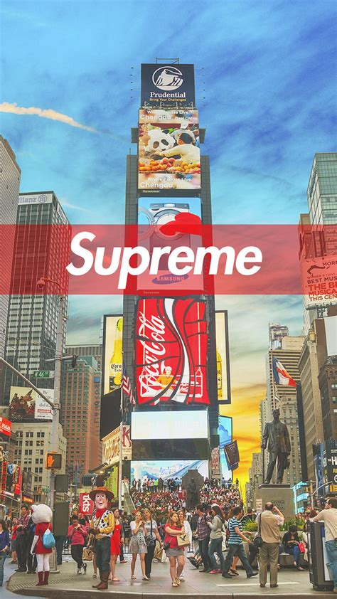 supreme nyc supreme new york iphone wallpaper hd