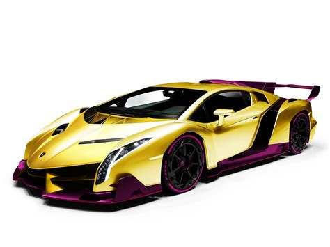 Lamborghini Veneno Gold Pictures to Pin on Pinterest
