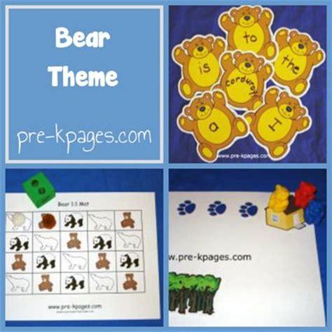 kindergarten activities bears 1000 images about preschool theme bears on pinterest