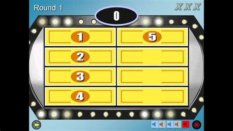 Play Family Feud Family Feud And Conductors On Pinterest Make Your Own Family Feud Powerpoint