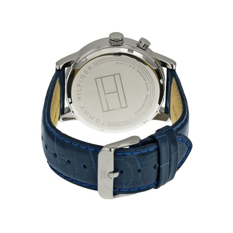 Hilfiger 1781448 Multi Function White Leather hilfiger multi function white blue leather s 1791085 hilfiger