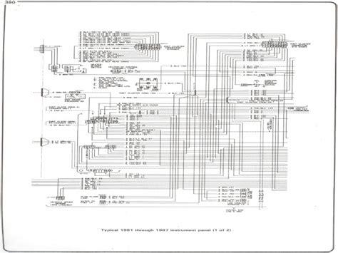 1984 chevy truck alternator wiring diagram wiring forums