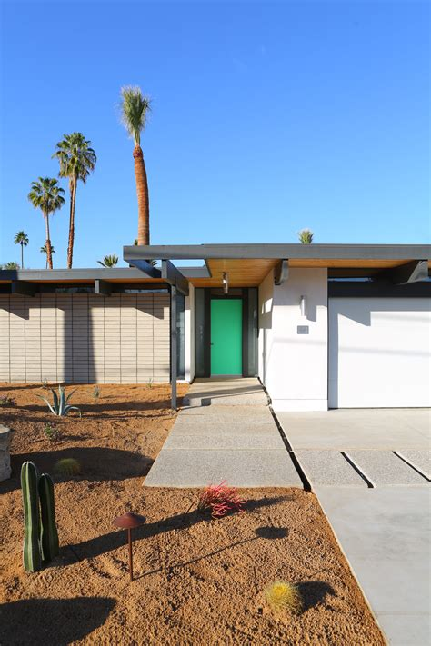 palm springs home design expo developers revive quot desert eichler quot for palm springs