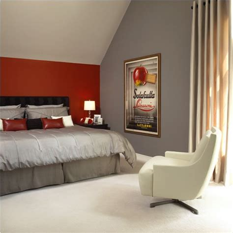 red accents in bedroom red accent wall in bedroom www indiepedia org