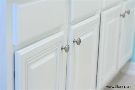 Bathroom Cabinet Knobs Bathroom Makeover