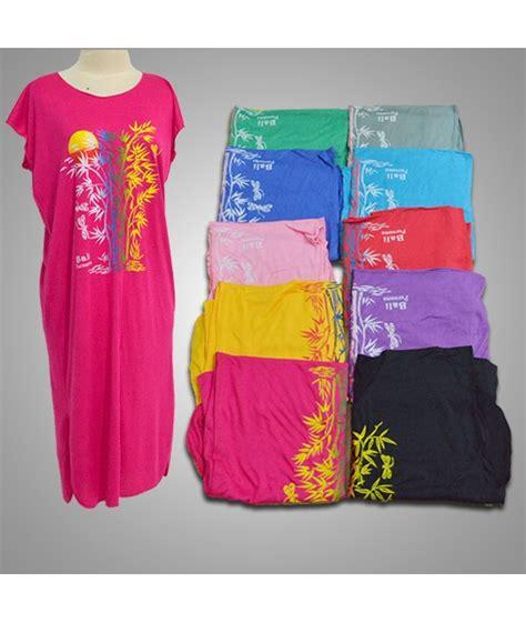 Daster Bali Kuning daster bambu shortdress warna warni kain rayon busana bali