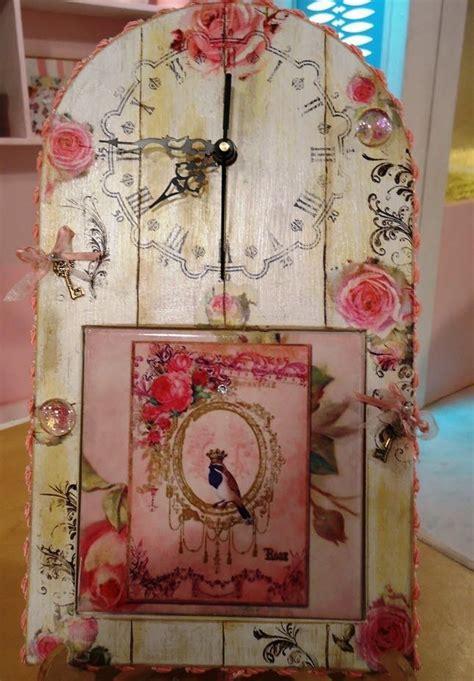 como sublimar azulejos patricia fernandez ahsap boyama diy clock craft decoupage