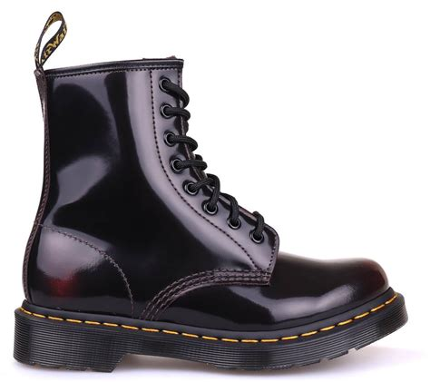 dr martens  arcadia cherry red