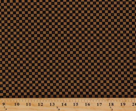 Civil Background Check Cotton Jo Morton Essex Squares Checkerboard Checks Brown Civil War Reproduction Cotton