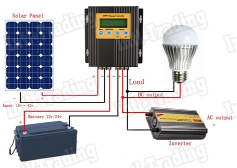 how to charge solar light batteries 100 real 20a mppt pv solar panel battery regulator charge