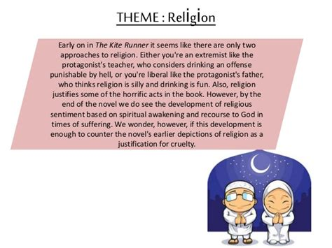 kite runner religious themes kite runner revision pack
