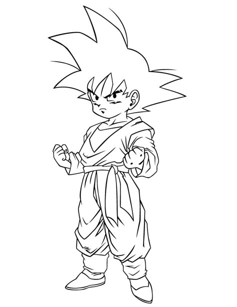 dragon ball character coloring page h m coloring pages cool dragon ball gohan coloring page h m coloring pages