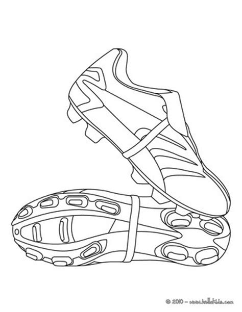 coloring pages football shoes soccer shoes coloring pages hellokids com