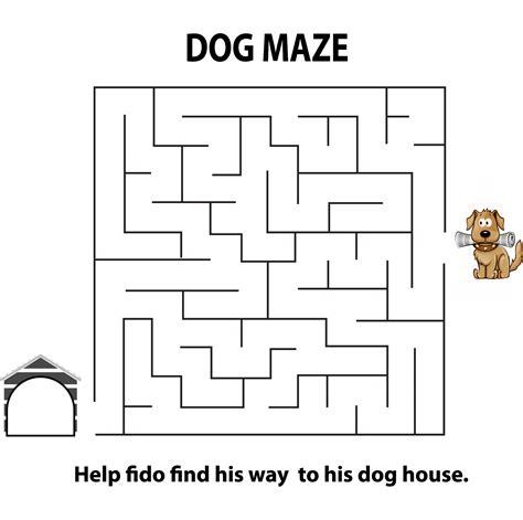 printable dog maze dog maze images reverse search