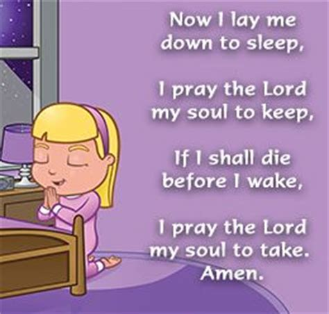 prayers to say before bed prayer kid and christian on pinterest