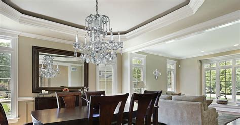 crystal chandelier for dining room dining room dazzlers sparkling crystal dining room