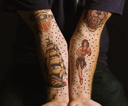 sailor girl tattoos designs 25 sailor jerry tattoos designs inkdoneright