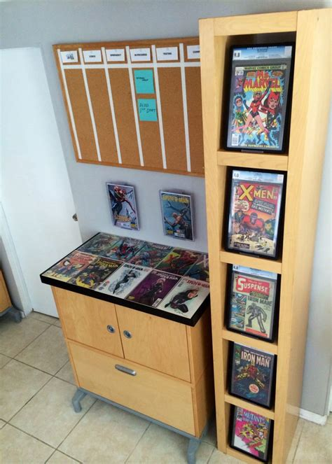 comic book shelves 17 best images about comic book display on pinterest
