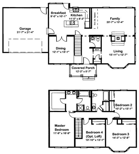 continental homes floor plans continental 6 modular home floor plan