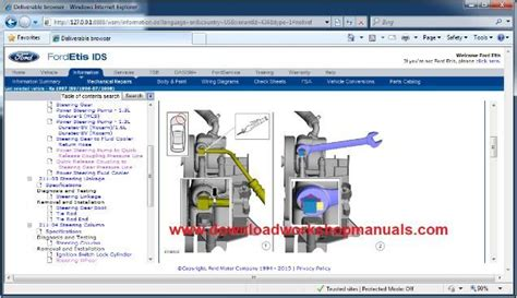 ford ka workshop repair manual