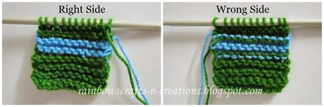 how to change colors when knitting in the rainbow s crafts and creations changing yarn colors