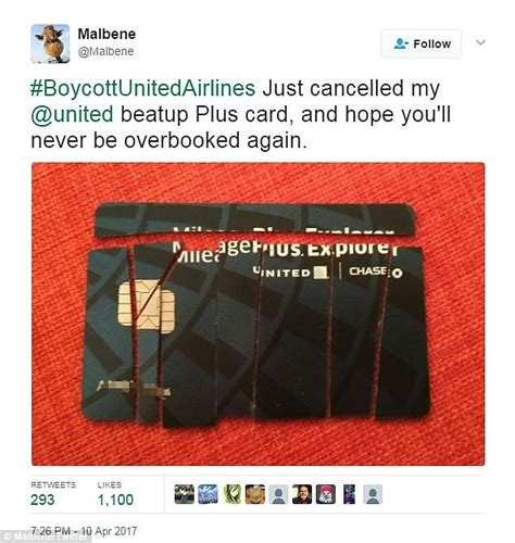 United Airlines Gift Card - united customers cut up cards and cancel accounts daily mail online