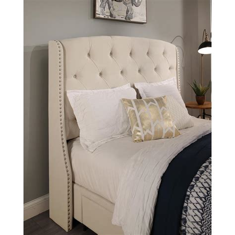 eastern king headboard willow gray california king headboard 154cmstdv the home
