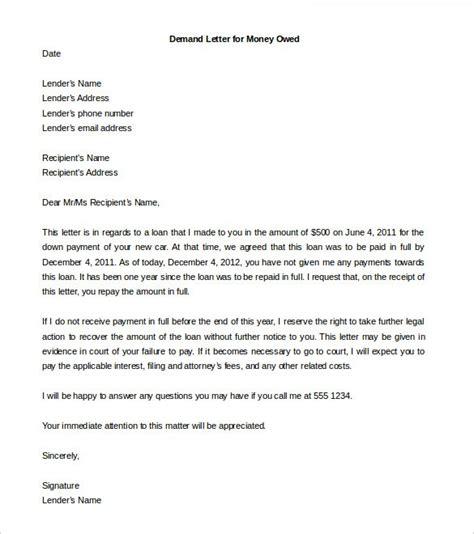 exle of formal demand letter demand letter template uk 28 images demand letter