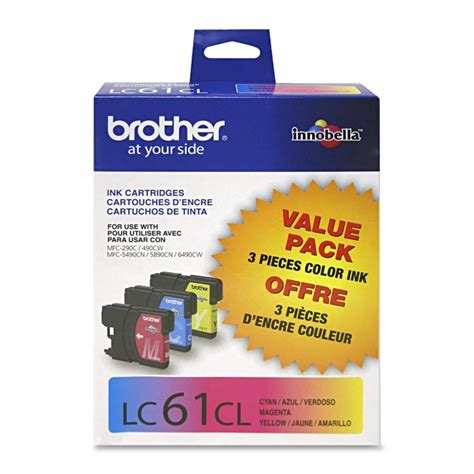 brother dcp j125 yellow ink cartridge 325 pages brother dcp j125 black ink cartridge 450 pages