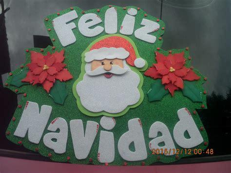 imagenes navideñas animadas en foami adornos navide 241 os en foami bs 200 00 en mercado libre