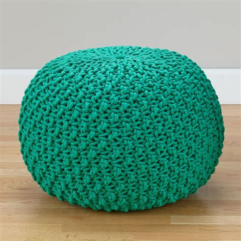teal pouf ottoman style teal pouf ottoman bitdigest design how to make
