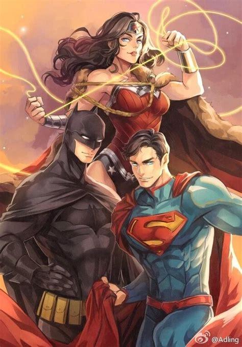 Kaos Justice League Dc 3 Batman Superman Wonderwoman 2773 best dc universe images on