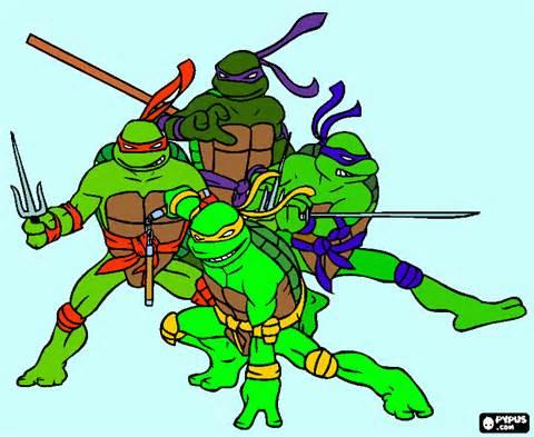 ninja turtles t coloring page printable ninja turtles t