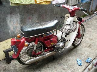 Sein Depan Kanankiri Honda C70 kang otonk tuwir klasikan
