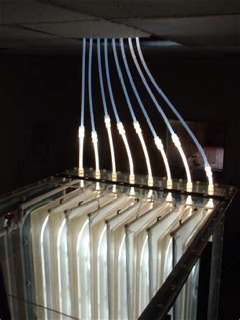 hybrid solar fiber optic lighting system solartrak r milestones daylighting systems
