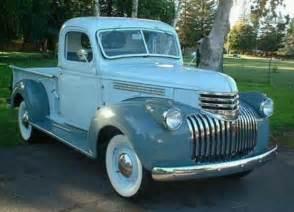 1945 chevy 1 2 ton chevy trucks