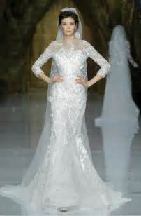 elie saab wedding dresses elie saab wedding dress 2014 pronovias bridal 2 onewed